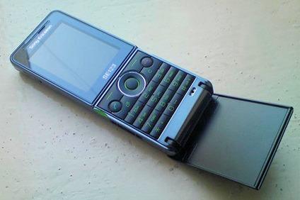 Телефон необычной формы - Sony Ericsson Twiggy