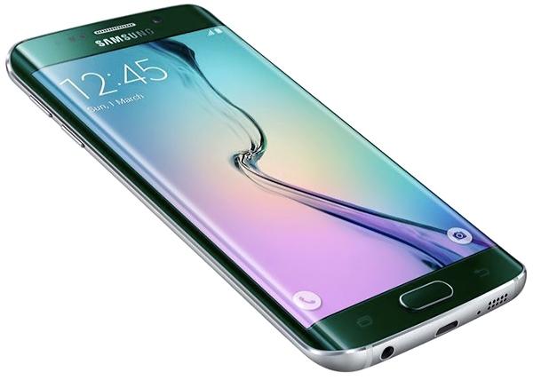 Samsung GALAXY S6 Edge в зеленом цвете – официальное фото