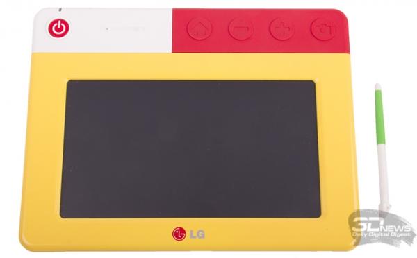 Планшет LG KidsPad E720 для дошкольников: играем и развиваемся