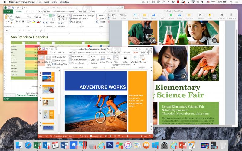 Прозрачная работа с Win- и Mac-приложениями