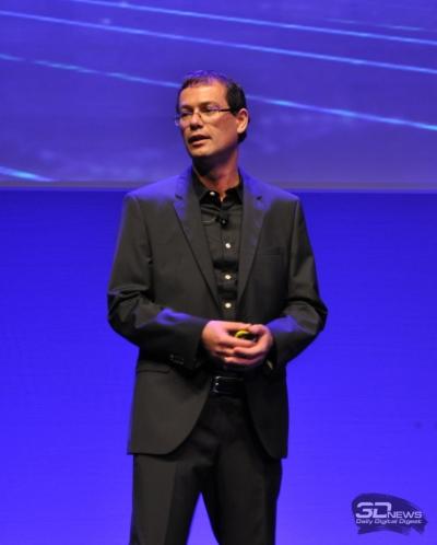 Открыл презентацию Майкл Сметана (Michael Smetana), вице-президент компании, руководящий направлением LaserJet и корпоративных решений в Европе