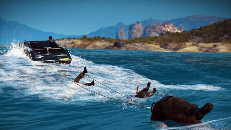 Айда плавать, парни!