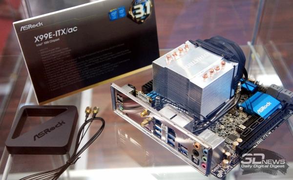 ASRock X99E-ITX/ac: Mini-ITX, USB 3.1 и Intel X99