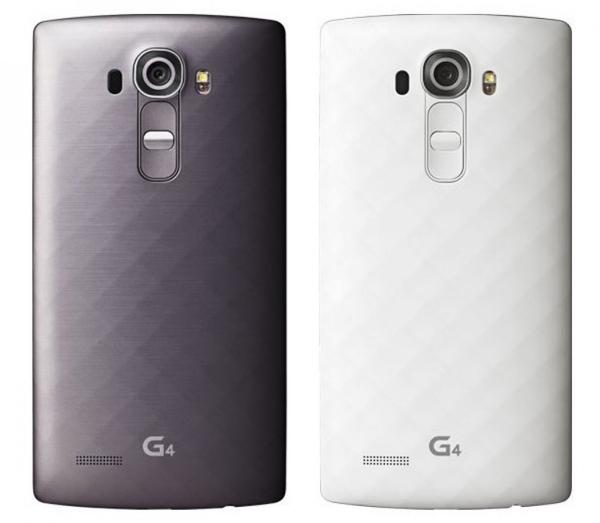 LG G4 – разные цвета пластиковой задней панели
