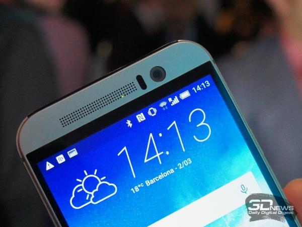 HTC One M9: ультрапиксель ушел на фронт