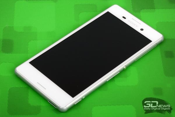 Sony Xperia M4 Aqua Dual – лицевая панель