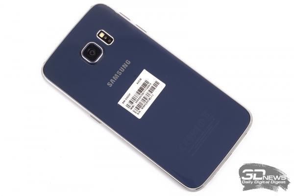 Samsung GALAXY S6 Edge – задняя панель