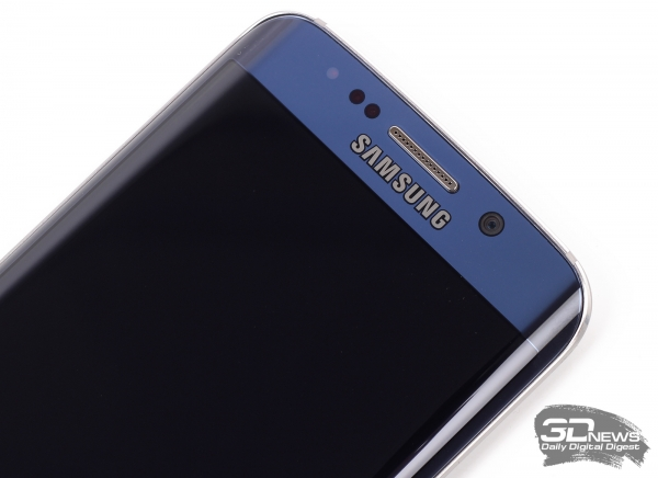Samsung GALAXY S6 Edge – фронтальная пятимегапиксельная камера