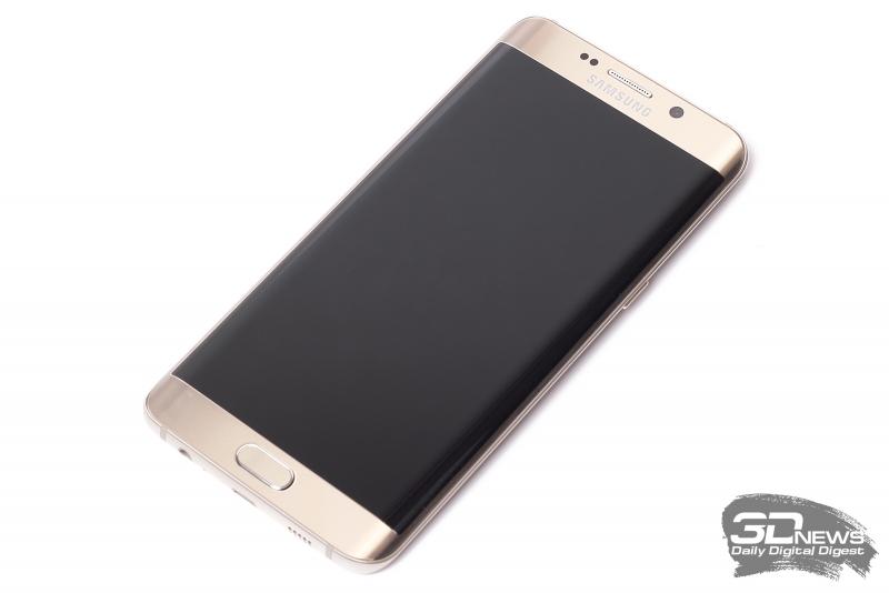 Samsung GALAXY S6 Edge+ – лицевая панель