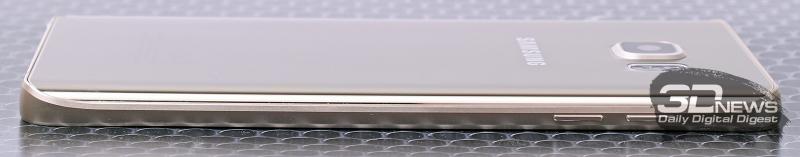 Samsung Galaxy Note5 – боковая сторона