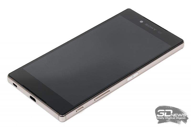 Sony Xperia Z5 Premium – лицевая панель