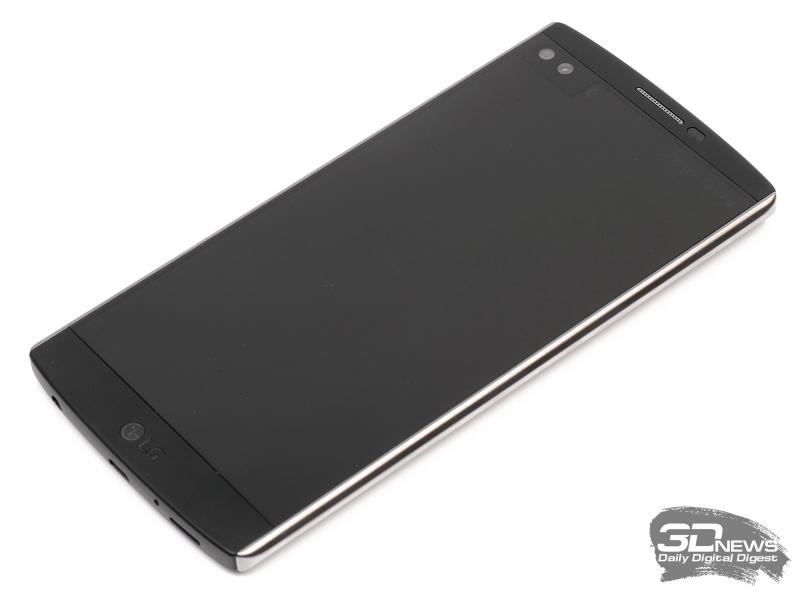 LG V10 – вид спереди