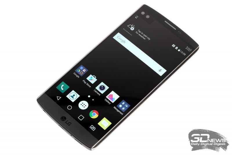 Знакомьтесь, V10 – самый передовой смартфон LG