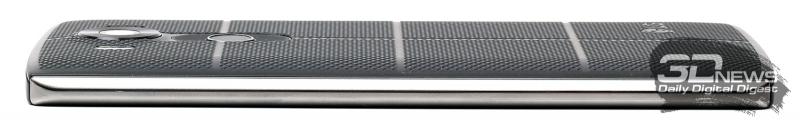 LG V10 – вид сбоку