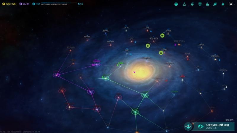 Вот так выглядит Галактика средних размеров. Тесновато