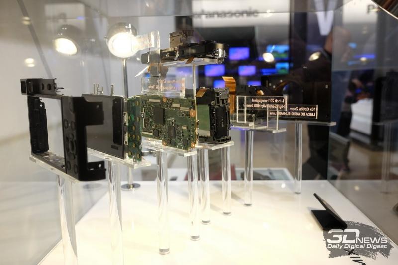 Panasonic Lumix TZ100 в разобранном виде