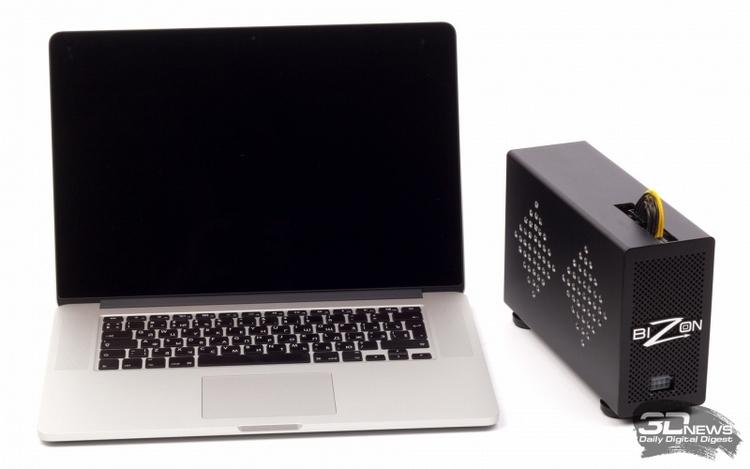BizonBOX 2: требует наличия интерфейса Thunderbolt