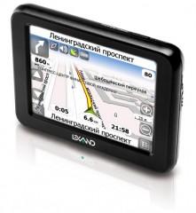 В России появились тонкие GPS-навигаторы компании Lexand