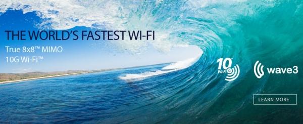 Quantenna 10G Wi-Fi Wave3