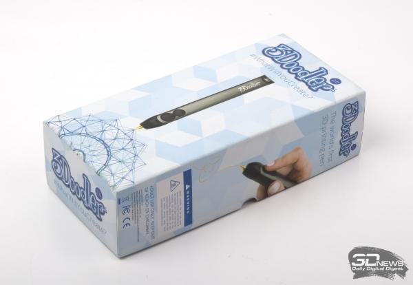 Упаковка 3D-ручки 3Doodler