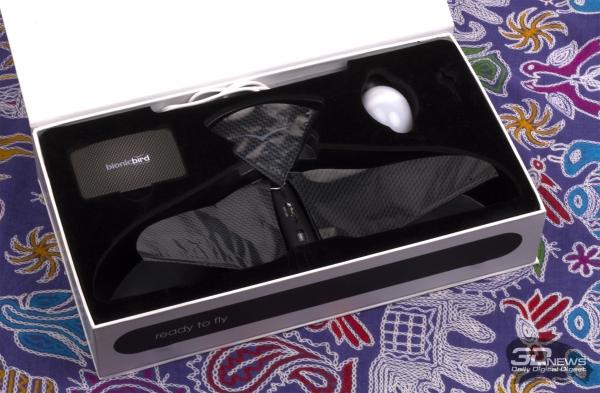 Раскрытая упаковка Bionic Bird