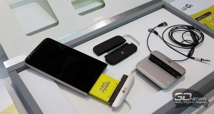 LG G5 и доступные модули