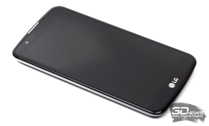 LG K10 LTE – передняя панель