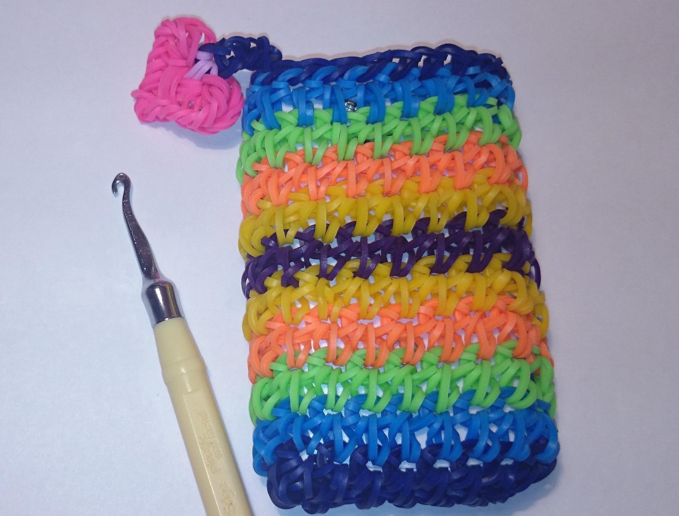 Процесс плетения чехла